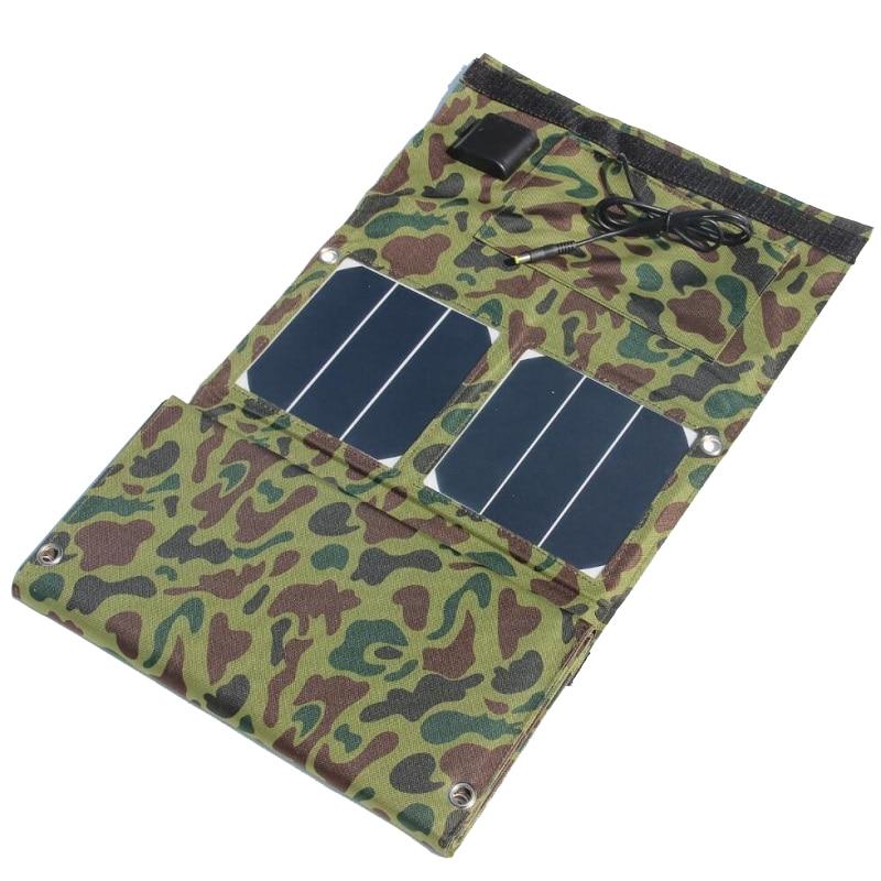 40W Sunpower Solar Panel Charger USB5V&DC18V Output For Mobile Phones/Power Bank 12V Battery Charger