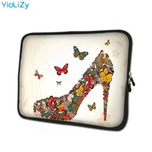 print High heels mini laptop Bag 7.9 Neoprene notebook sleeve 8 inch tablet case protective skin for cover ipad mini TB-151126