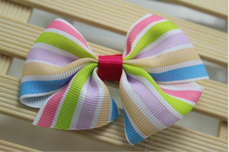 f06 baby girls ribbon hairbows