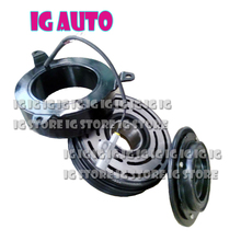 Brand New AC Clutch For TOYOTA COASTER BUS Compressor Spare Parts Pulley 5 Grooves 24V
