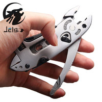 XILKO Hand Tools Outdoor Multitool Pliers Adjustable Wrench Jaw Screwdriver Pliers Knife Tools Knife Set Survival