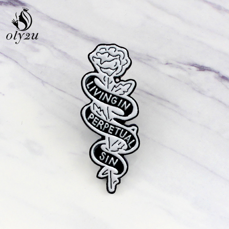 1 Pcs Cartoon Cute White Cat Metal Brooch Button Pins Denim Jacket Pin Jewelry Decoration Badge For Clothes Lapel Pins To Enjoy High Reputation In The International Market Apparel Sewing & Fabric Home & Garden