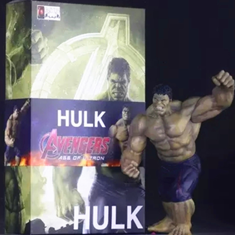 Crazy Toys Avengers Age of Ultron Superhero Bruce Banner Hulk PVC Action Figure Collectible Model Toy G44 crazy toys avengers age of ultron hulk pvc action figure collectible model toy 9 23cm hrfg449