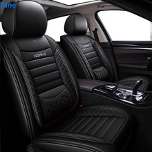 цена на Tane leather car seat cover For honda freed stream accord 2018 crv civic 2006 2011 city 2010 fit accessories seat covers for car
