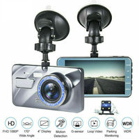 4 1080P Car DVR Recorder Dual Lens Car Dash Cam Front and Rear Camera Dashboard 170°DVR Recorder Mini Camera 3E20