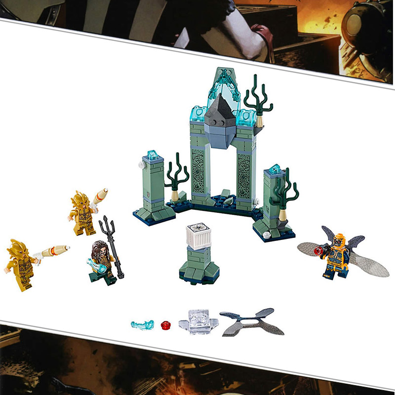 Bela 10841 DC Comic Super Hero Battle of Atlantis Marine Relics Building Blocks Toys Compatible With Legoings Batman 76085 minifee chloe cline ante mirwen msd 1 4 ball joint doll bjd doll with eyes