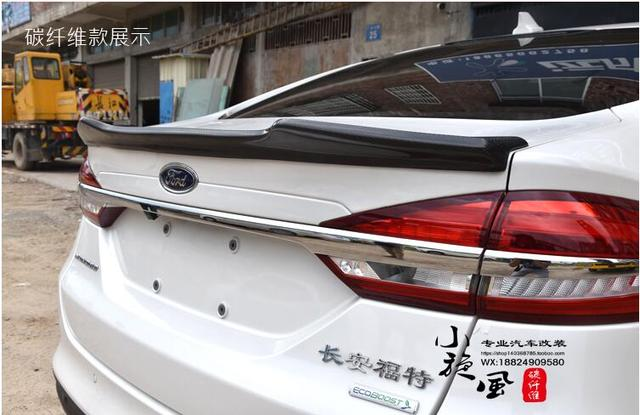 Carbon Fiber Car Rear Wing Trunk Spoiler For Ford Mondeo Fusion