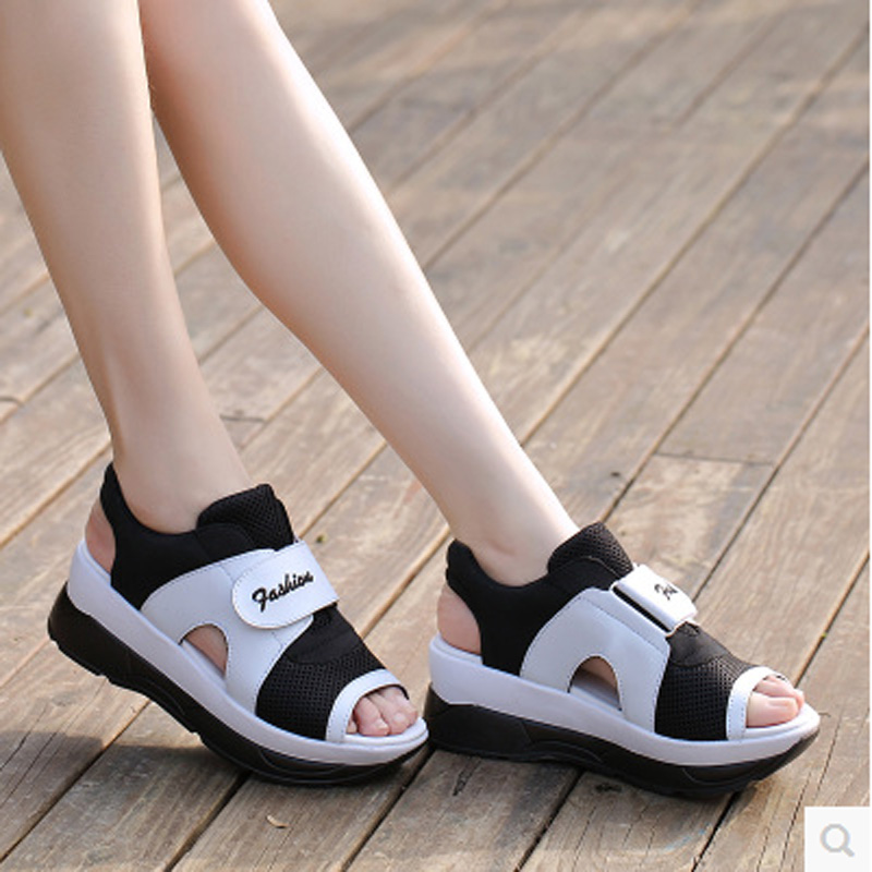 2016 Fashion Summer font b Women s b font Sandals font b Casual b font Sport