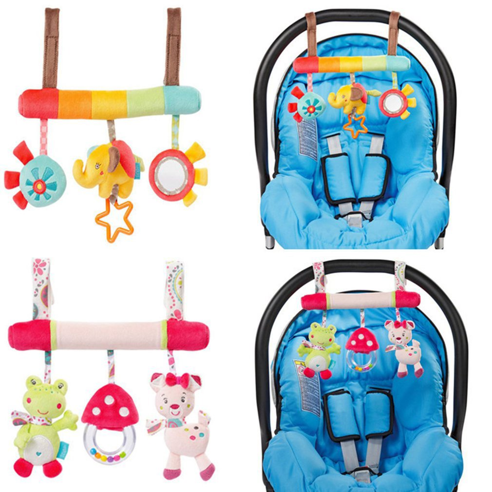 Children Bed hanging Bed baby Safety toy animal bed around the car hanging special baby safety seat Elephant pendant plush toy