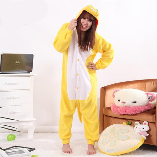 d5717c693 New Fashion Women s Character Funny Pajamas Women Full Sleeve Hooded ...