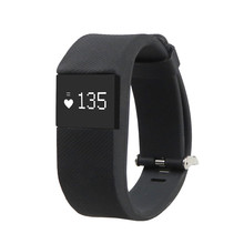 New Design TW64S Waterproof Fitness Heart Rate Smart Bracelet Wristband Tracker Bluetooth 4.0 Watch for ios android Smartphone