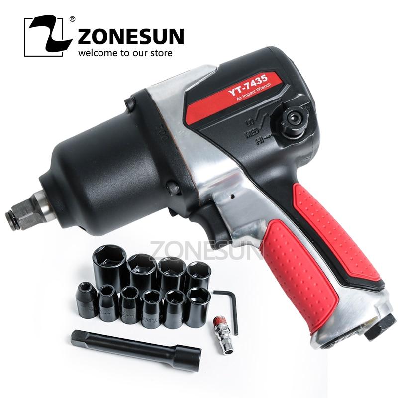 zonesun 1 2 air ratchet wrench air tools mini workshop tools repair car spanners ZONESUN 16mm Bolt size Pneumatic impact Wrench, Air Tools,Spanners for Car Bicycle Repair Pneumatic Tools