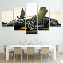 The Centenario super race car 5 Panels Wallpapers modern Modular Poster art Canvas painting for Living Room Home Decor