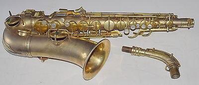 1930 Conn Transitional Era Alto Saxophone Art Deco Gold