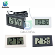 Mini Digital LCD Thermometer Sensor Temperature Meter Thermometer Thermograph Fridge Freezer For Aquarium Refrigerator DIY Kit недорого