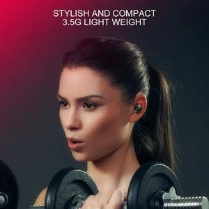 Image 3 - Roreta XG12 Bluetooth 5.0 אלחוטי אוזניות מיני דיבורית שיחת אוזניות עם מיקרופון סטריאו HIFI ספורט אוזניות עם USB מטען