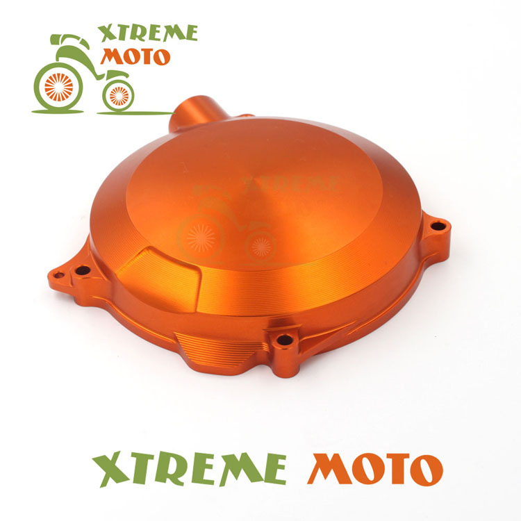 Orange CNC Alloy Engine Clutch Cover For KTM SX EXC XC XCW 125 150 200 Motocross Enduro Motorcycle Supermoto Dirt Bike Off Road