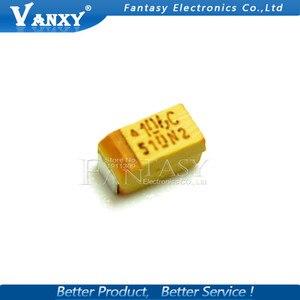 20 шт. A 3216 10 мкФ 16V 106 106 c SMD Танталовый конденсатор