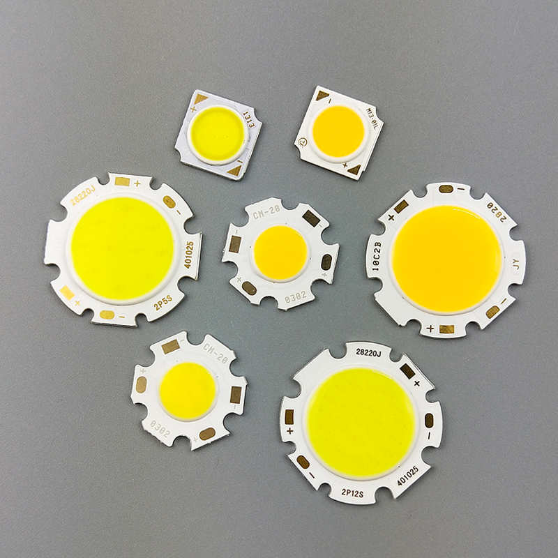 5pcs Lot  LED COB Light Bulb 11mm 20mm 3W 5W 7W 10W 12W 15W LED Source Chip Light Lamp Spotlight Downlight Lamps