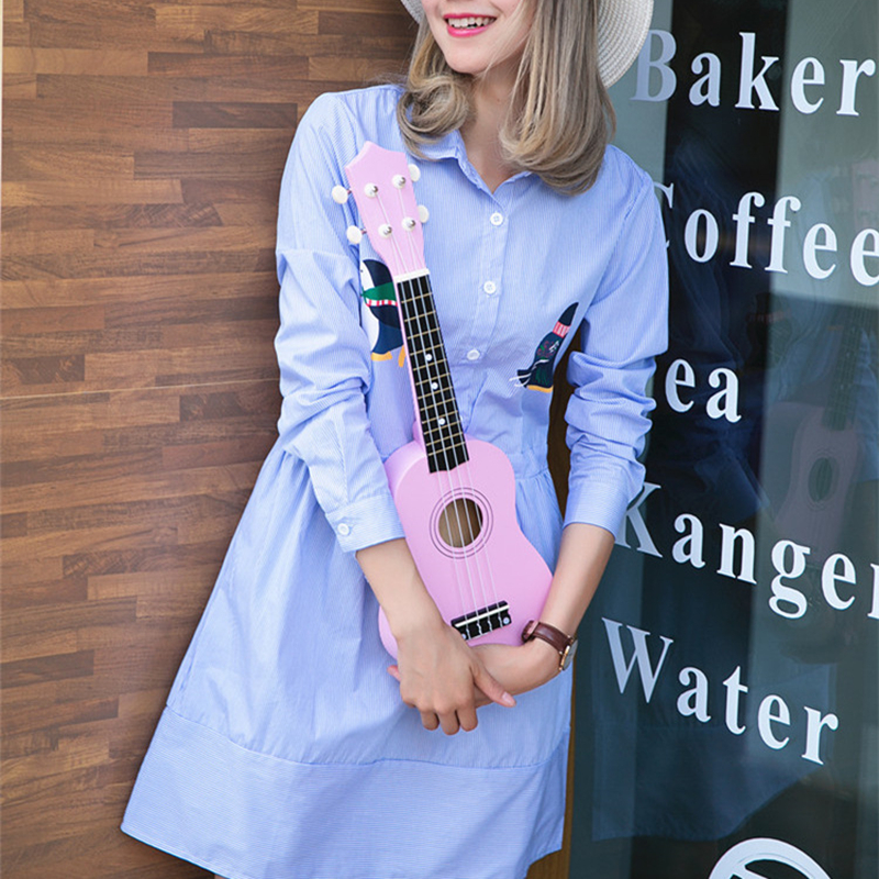 21 four colour Ukulele Beginners Children Christmas Gifts Hawaii Four String Guitar + Bag+Tuner+String+Pick