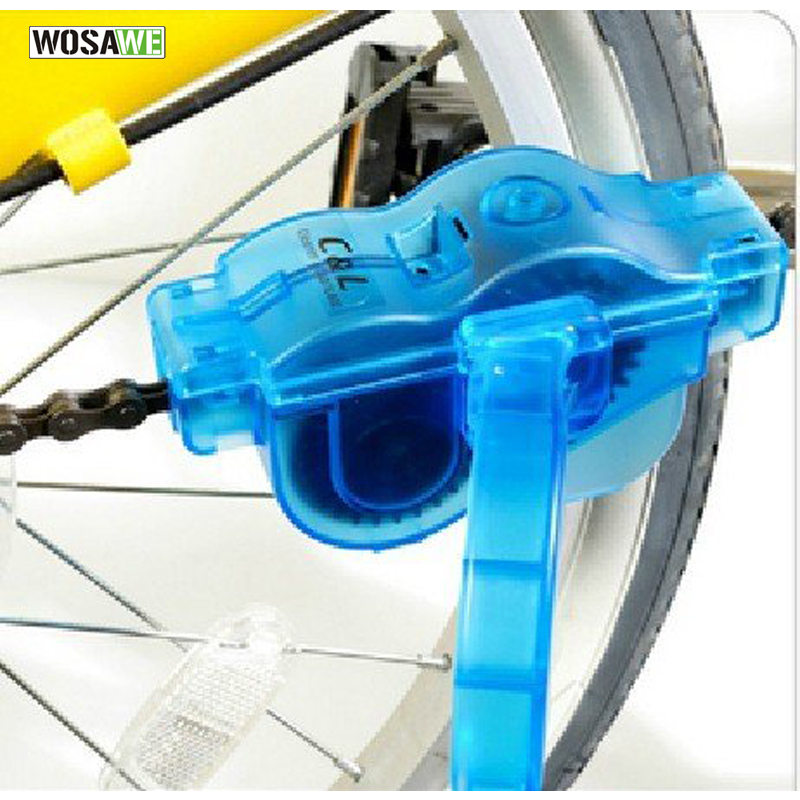 WOSAWE High Quality MTB Road Bike Chain Cleaner Cycling Repair Tool Bicycle Brushes Scrubber Wash Kit Finish Line cadena bicicle