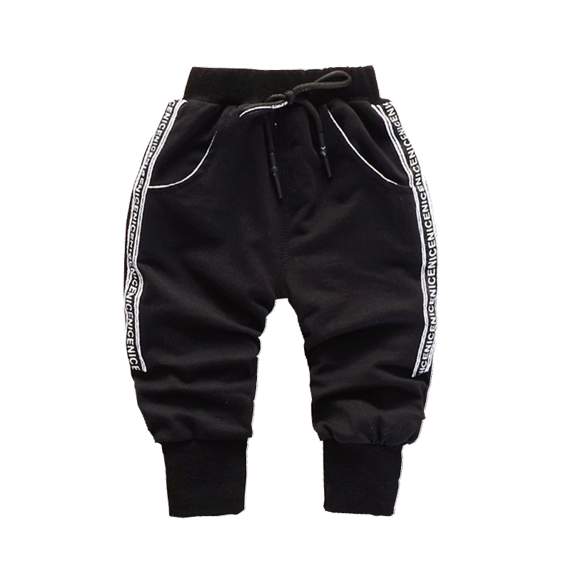 2018 New Spring Autumn Boys Casual Long Pants 0-4 Years Childrens Baby Girls Elastic Band Sports Cotton Childrens Trousers