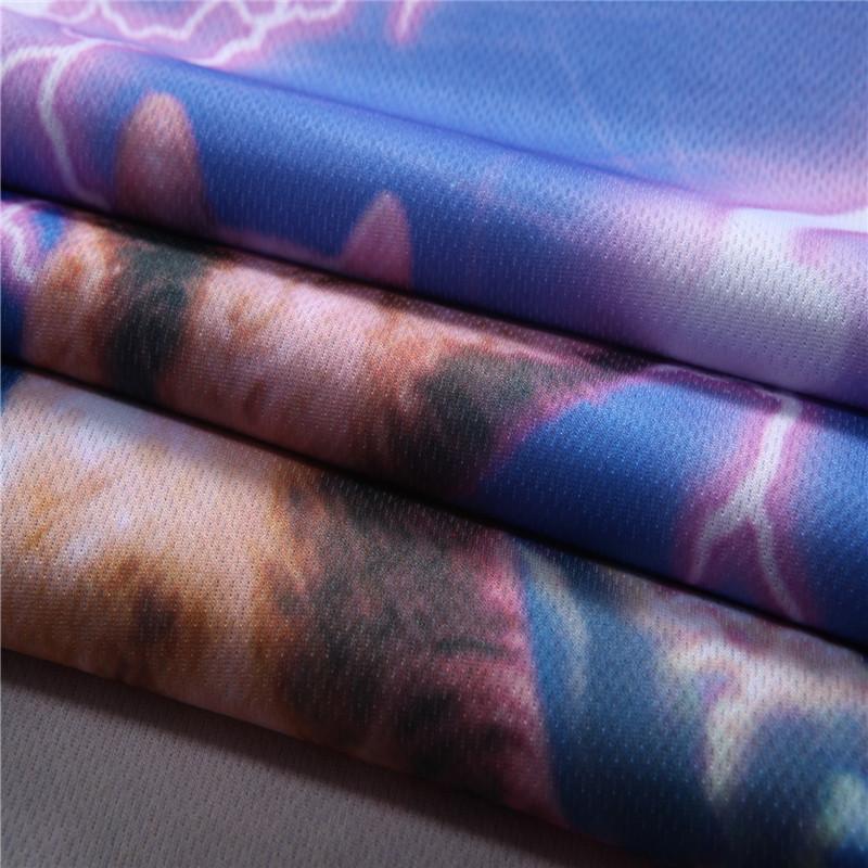 12 Color 3d print Lightning cat t shirt 5