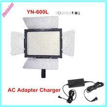 Y ongnuo YN-600 YN600 LEDไฟวิดีโอ3200พัน-5500พันที่มี600 LEDสำหรับCanon Nikon + ACอะแดปเตอร์ชาร์จพลังงานS Witching