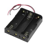 Wholesale5pcs*Series 3.7V Flat Tip Battery Holder Case for 3 x 18650 Batteries