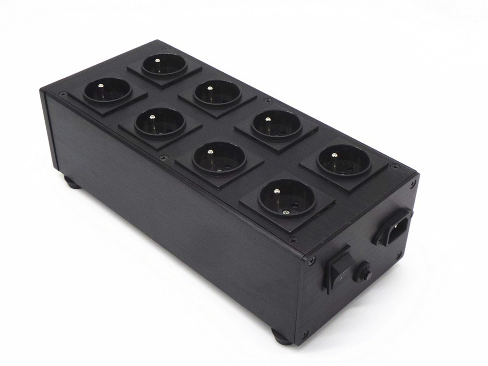 Weiduka AC8.8B European standard socket version 3000W 15A AC Power Socket Advanced Audio Power Purifier Filter Extension Socket