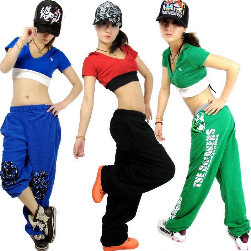 New fashion brand women clothing hip hop dance short top for Hip hop outfit damen