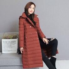 KUYOMENS Winter Jackets Coats Women's Long Warm Thickening Parka Female Befree Outerwear Coats Vintage Parks Jaqueta Femi
