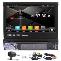 Android 6 0 OS Bluetooth 7 Inch Car Dvd Stereo Headunit Receiver Touch Screen AM FM