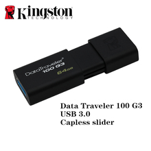 Kingston memoria usb 3.0 pen drive 64gb usb pen drive high speed pendrives memory stick