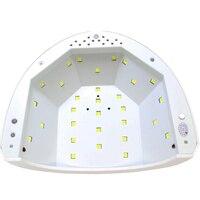2017 Yeni SUNone 48 W-24 W Tırnak Kurutucu LED UV Lamba Jel Tırnak lehçe Kurutma Tırnak Tırnak Jel Kür Tırnak Sanat Boyama Salon Araçları