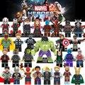 Marvel Супергерои Мстители Бесконечность войны танос Тор Халк стражи Черная пантера Железный человек строительные блоки детские игрушечные фигурки - фото