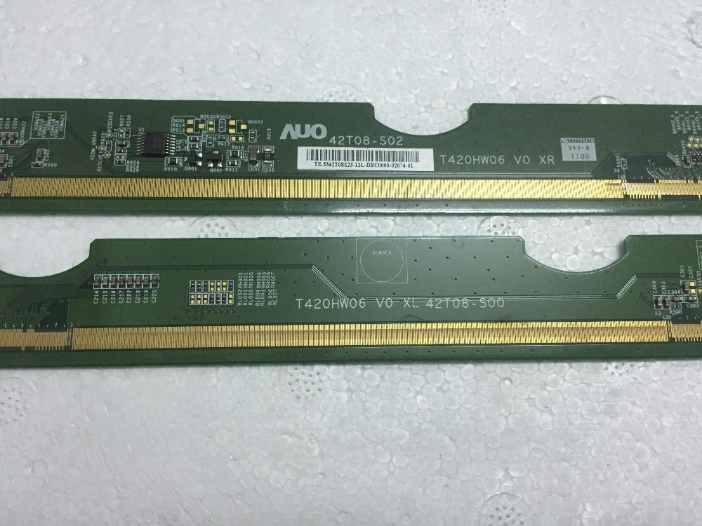 T420HW06 V0 XL/XR 42T08-S00/42T08-S02  LCD Panel PCB Part A Pair