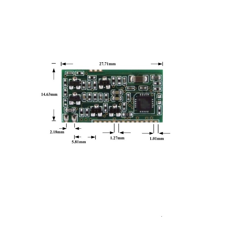 UART Module ISO 11784/11785 RFID Module Low-Frequency Reader Module  Support 134.2K Animal Labels FDX-B Tag