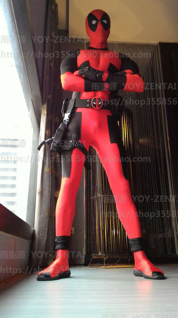 aliexpresscom buy halloween cosplay full body deadpool costume adult lycra costume with muscle padding from reliable lycra blouse suppliers on archie - Halloween Muscle