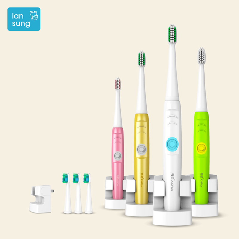 LANSUNG 39PLUS electric toothbrush Oral Hygiene Electric Toothbrush Rechargeable Sonic toothbrush electric tooth brush teeth   5 наполнитель sanicat hygiene plus 10l 170 103