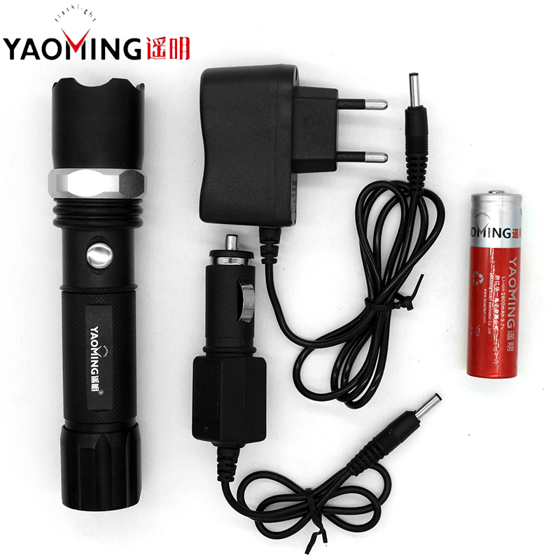 Police Cree Led Flashlight Zoomable Torch Flash light Tactical Lanterna Rechargeable Led Linterna Lampe Torche by 18650 or 3*AAA q5 flashlight tactical 2000lm lanterna torch penlight 3 modes zoomable linterna led diving flash light 1w high power