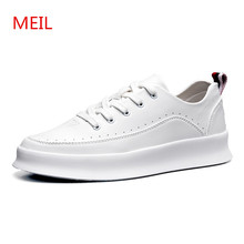 MEIL 2018 Spring Designer Breathable Sneakers men shoes High quality Casual Shoes Men Flats chaussure homme platform Shoes цены онлайн