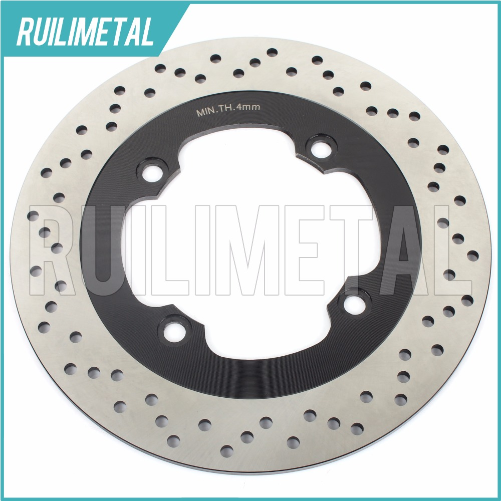 Rear Brake Disc Rotor for CB-1 400 CB400F 1989 1990 89 90 NSS 250 Forza EX ABS NSS 250 Forza X  ABS 2005 2006 2007 05 06 07 rear brake disc rotor for yamaha fz1 non abs 06 09 fz6 naked non abs 04 07 fz6 ns naked 05 06 motorcycle