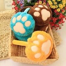 Fashion Cute Bear s Small Footprints font b Earmuffs b font Winter font b Earmuffs b