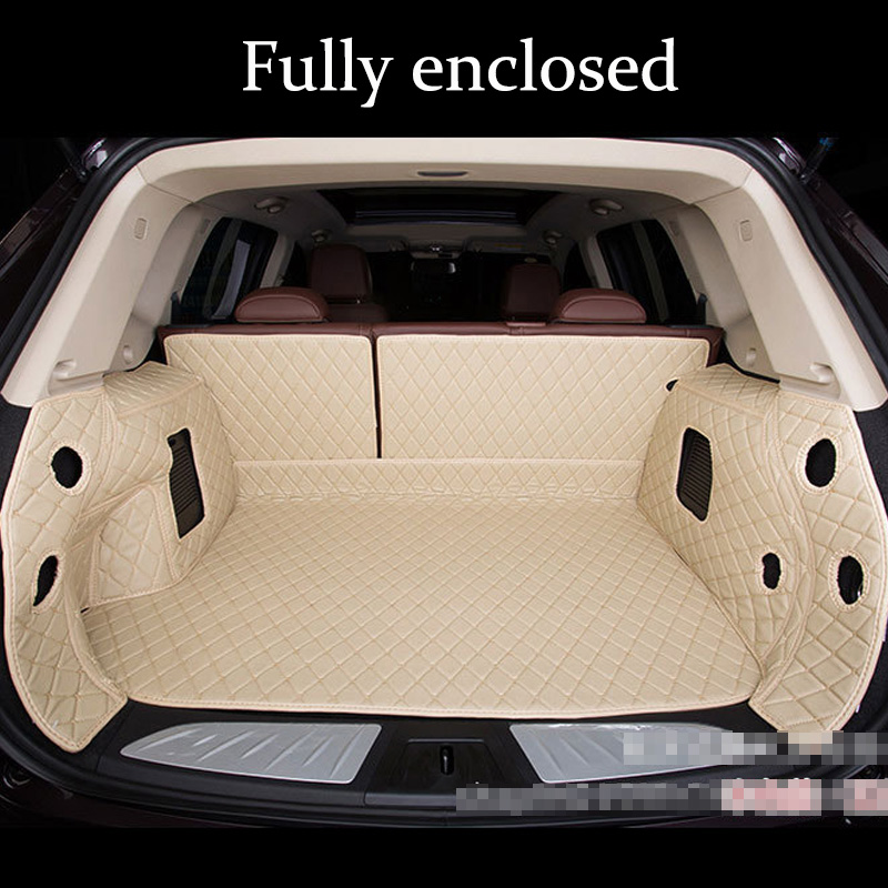 Luxury Car Trunk Mats For MERCEDES BENZ Class A B C E S R ML GL GLA GLC GLK GLS C AMG GLE CL CLA C117 2006-2019s Waterproof Mats