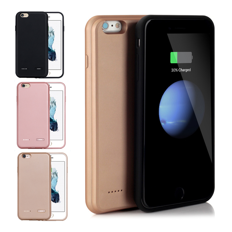 3700mah Extended Power Battery Case for iPhone6 6s Plus Portable Rechargeable Backup Case for iPhone6 6s