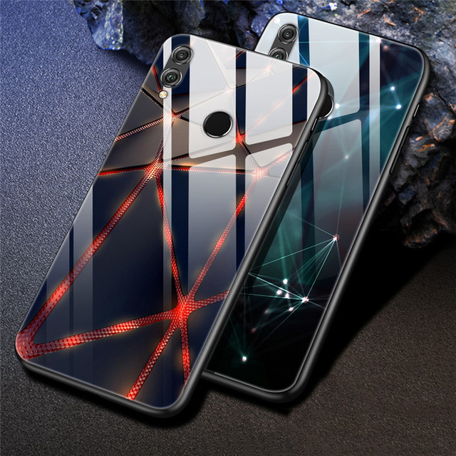 For Coque Huawei Honor 8X Case Honor 8x Max Tempered Glass Back Cover Case For Huawei P30 Pro P30 lite Case P30lite Case P 30
