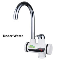 Instantly Hot Electric Heater 220V Electric Faucet 3000W Kitchen Instant Heating Tap Water With LED Digital Display Water Heater