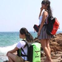 25L пвх уличная водонепроницаемая сумка спортивная треккинг заплечный гермомешок водонепроницаемый рюкзак для каякинга рафтинга катания н...
