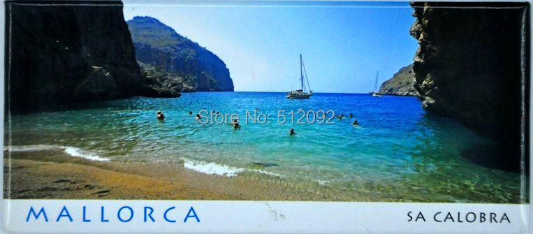 ŠPANĚLSKO MALLORCA Obdélník Středomořský oceán Kovová - Dekorace interiéru - Fotografie 5
